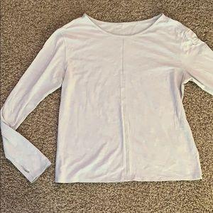 Lululemon grey long sleeve top